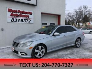 2010 Mercedes-Benz E-Class E350 4MATIC All Wheel Drive ** Leathe