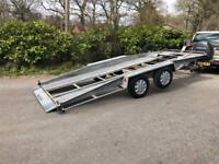 Car transporter Trailor made buy Bateson Trident trailers like new