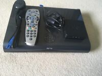 1TB HD Sky Box, cable, remote & WiFi box - very good condition