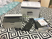 Brother HL-1110 A4 Mono Laser Printer (incl. cable, extra toner and paper)