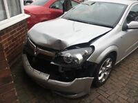 Silver Vauxhall Astra sell as seen