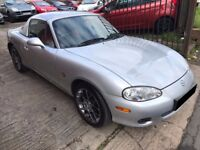 Mazda MX-5 1.6 Euphonic Limited Edition 2dr - Hard Top, 2 Owners, 8 Services, 12 Months MOT, £2295