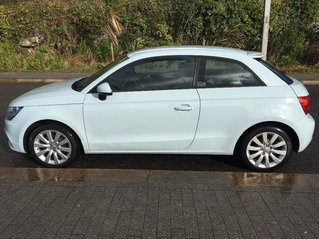 Vgc pale blue Audi A1 sport, full service history, 1 previous owner