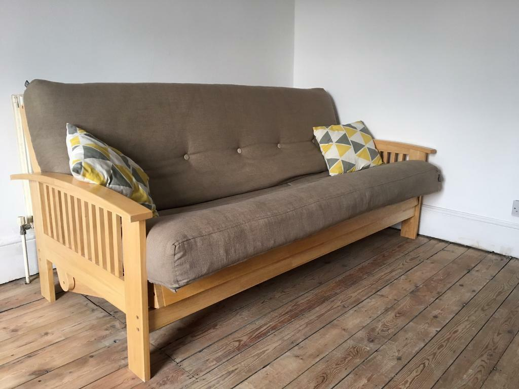 buy popular b955b 18caf Futon Company Double /3 seater futon bed | in Peckham, London | Gumtree