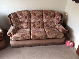 3 piece suite/ sofa/ armchairs FREE