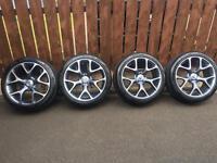 """Vauxhall Insignia 19"""" VXR style alloys / alloy wheels 5x120"""