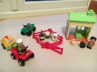 Happyland farm and vets toy