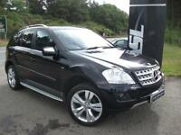 MERCEDES-BENZ M CLASS ML350 CDi BlueEFFICIENCY Sport 5dr Tip Auto (black) 2009