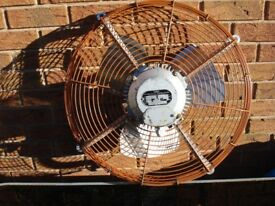 HYDOR INDUSTRIAL EXTRACTOR FAN 440V 450MM DIAMETER