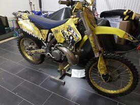 Suzuki RM 250 Motocross Motorbike 2007
