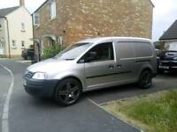VW CADDY MAXI camping adventure wagon with six months mot