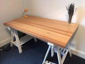 Desk / trestle table - Ikea GERTON / ODDVALD