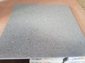 Grey starlight quartz tiles 400x400