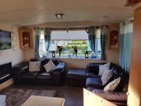3 bedroomed 6 person caravan to let on berwick haven holiday park