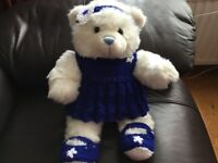 Build A Bear 3 pc Hand Knitted Outfit NEW