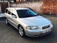 VOLVO V70 2.5 T SE Geartronic AWD 5dr Auto (silver) 2004