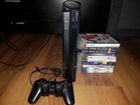 2 x PS3's for sale with games.