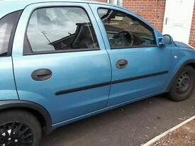 02 plate corsa spares and repairs/ project maybe?