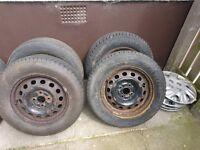 4 Wheels and Tyres, Honda hub caps