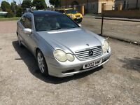 MERCEDES C200K SPORTS SEQUENTIAL AUTOMATIC