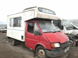 Ford transit spare parts available engine gearbox axel door wheels bumper bonnet