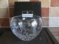Royal Doulton Crystal Fruit Bowl.