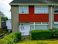 Unfurnished 3 bed house to let in Penllergaer