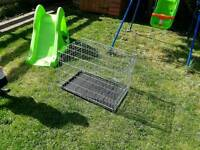 Two doors Dog cage