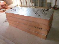 4 sheets Kingspan Kootherm insulation PIR boards 1200mm x 450mm x 120mm thick