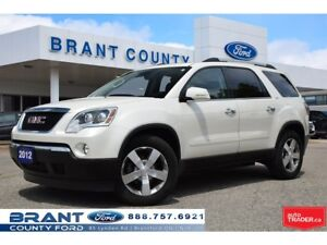 2012 GMC Acadia SLT - CLEAN CARPROOF, NAV, ROOF!