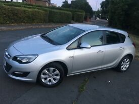 2013 VAUXHALL ASTRA 1.4 42K MILES FACE LIFT LONG MOT ALLOY WHEELS AUX LOW MILEAGE! BARGAIN!!