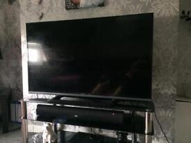 """50"""" plazma tv built in freeview etc REPAIR £20"""