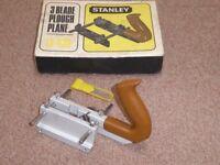 Stanley 3 Blade Plough Plane (13-030)
