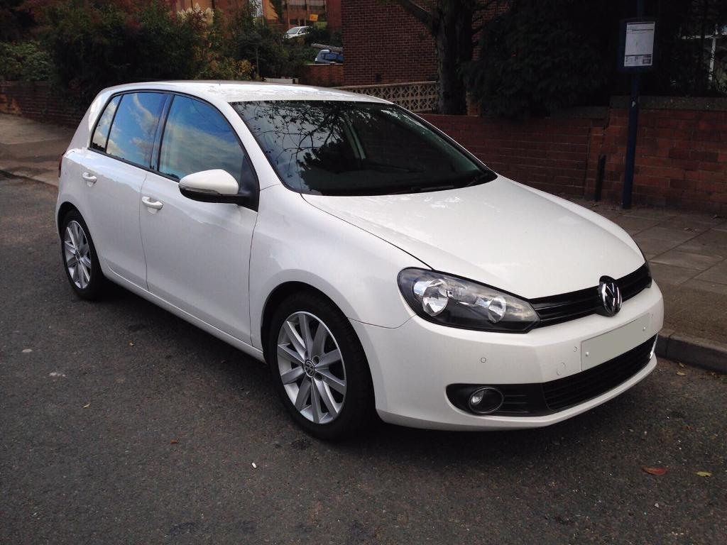 volkswagen golf gt 1 4 tsi 2010 white petrol manual 5 door lady owner fsh 12 month mot gtd gtr. Black Bedroom Furniture Sets. Home Design Ideas