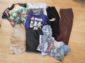 7-9 yr old boys clothes bundle. 14 items in total