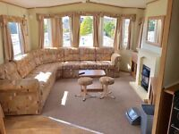 STATIC CARAVAN SALE - DOUBLE GLAZED & CENTRAL HEATED - SITE FEES FROM £1500