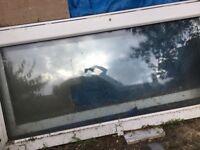 Old glass patio door free