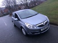 2009 Vauxhall Corsa 1.3 CDTI Life Diesel eco flex, 5dr in Silver FSH. 12months MOT. £1595