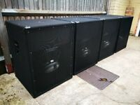 T18 Bass Bins with Fane Colossus 1000w Drivers