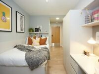 STUDENT ROOMS TO RENT IN LEEDS BRONZE EN-SUITE WITH SMALL DOUBLE BED, PRIVATE BATHROOM, PRIVATE ROOM