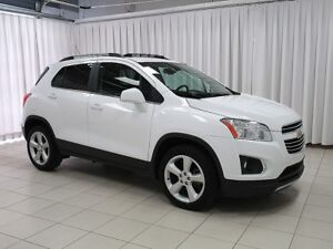 2016 Chevrolet Trax LTZ AWD SUV.  LOW KILOMETERS AND PACKED WITH