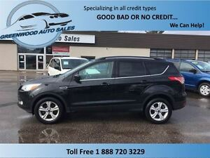 2014 Ford Escape 4x4 Eco Boost, loads of power options, finance