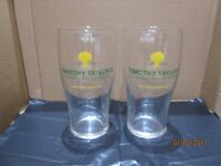 6 BRAND NEW TIMOTHY TAYLOR PINT GLASSES