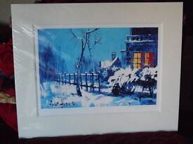 ROLF HARRIS SIGNED LIMITED EDITION PRINT