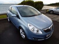 2009 Vauxhall CORSA 1.4 Design LOW 60k MILES 1 YEARS MOT ( SRi VXR SXi Fiesta Clio 207 Sport Punto )