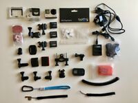 Go Pro Hero 4 Black + accessories gopro4
