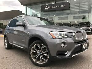 2015 BMW X3 xDrive28d AWD Navi Backup Cam Leather Sunroof