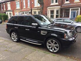Stunning met black Range Rover sport, all usual Range Rover extras, full mot, all new tyres,