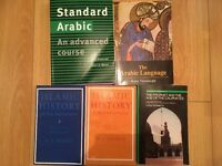 1st year Arabic University degree books study