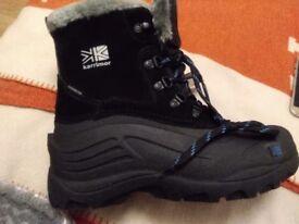 NEW Karrimor Snowfur Junior Boots Size 5
